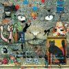 Carte Maïlo - Impressions urbaines: les chats - 14x14 cm
