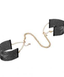 Desir Metallique Manchettes Noires Bijoux Indiscrets 134