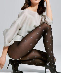 sex toys - Sex shop - Smile Collants 40 DEN - Noir & Gris