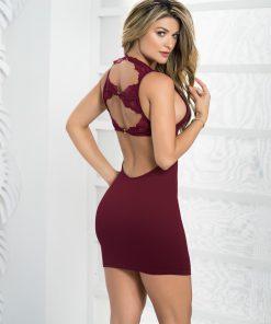 Robe Style 4473 - Bordeaux